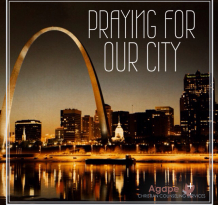 Praying For Ferguson St Louis
