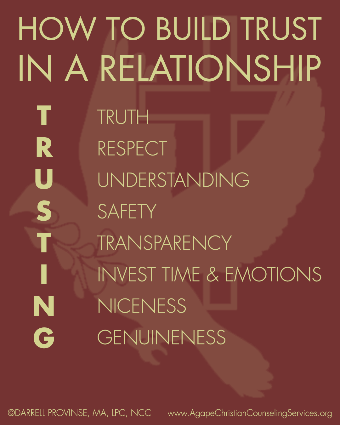building a foundation of trust in relationship