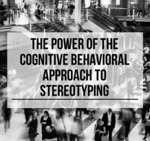 cognitive behavioral approach to stereotyping