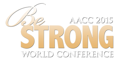 AACC WORLD CONFERENCE BE STRONG