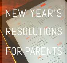 Parents New Years Resolutions