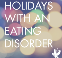 holidays with an eating disorder