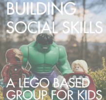 Building Social Skills Lego Group for Kids