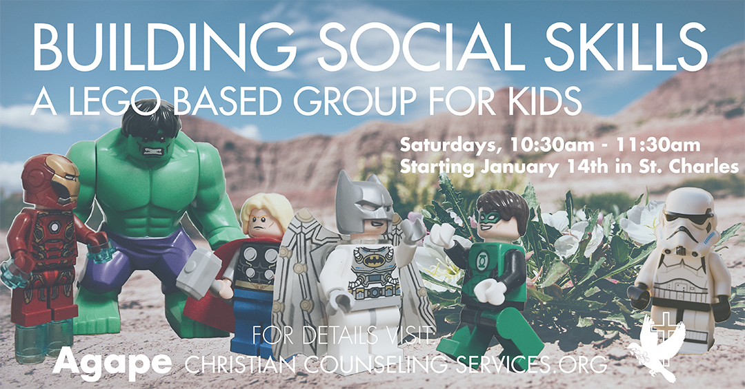 Building Social Skills Lego Group - Saturdays Beginning Jan 14 - Click for details